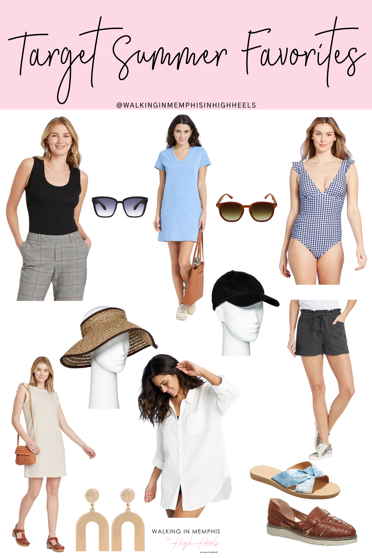 Target Summer Favorites for Moms featured by top US fashion blogger, Walking in Memphis in High Heels.