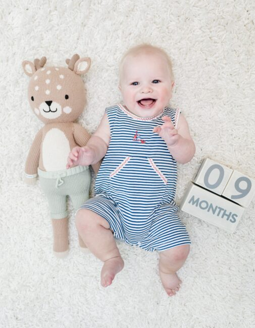 Grayson's 9 Month Baby Update by top US mommy blogger, Walking in Memphis in High Heels.