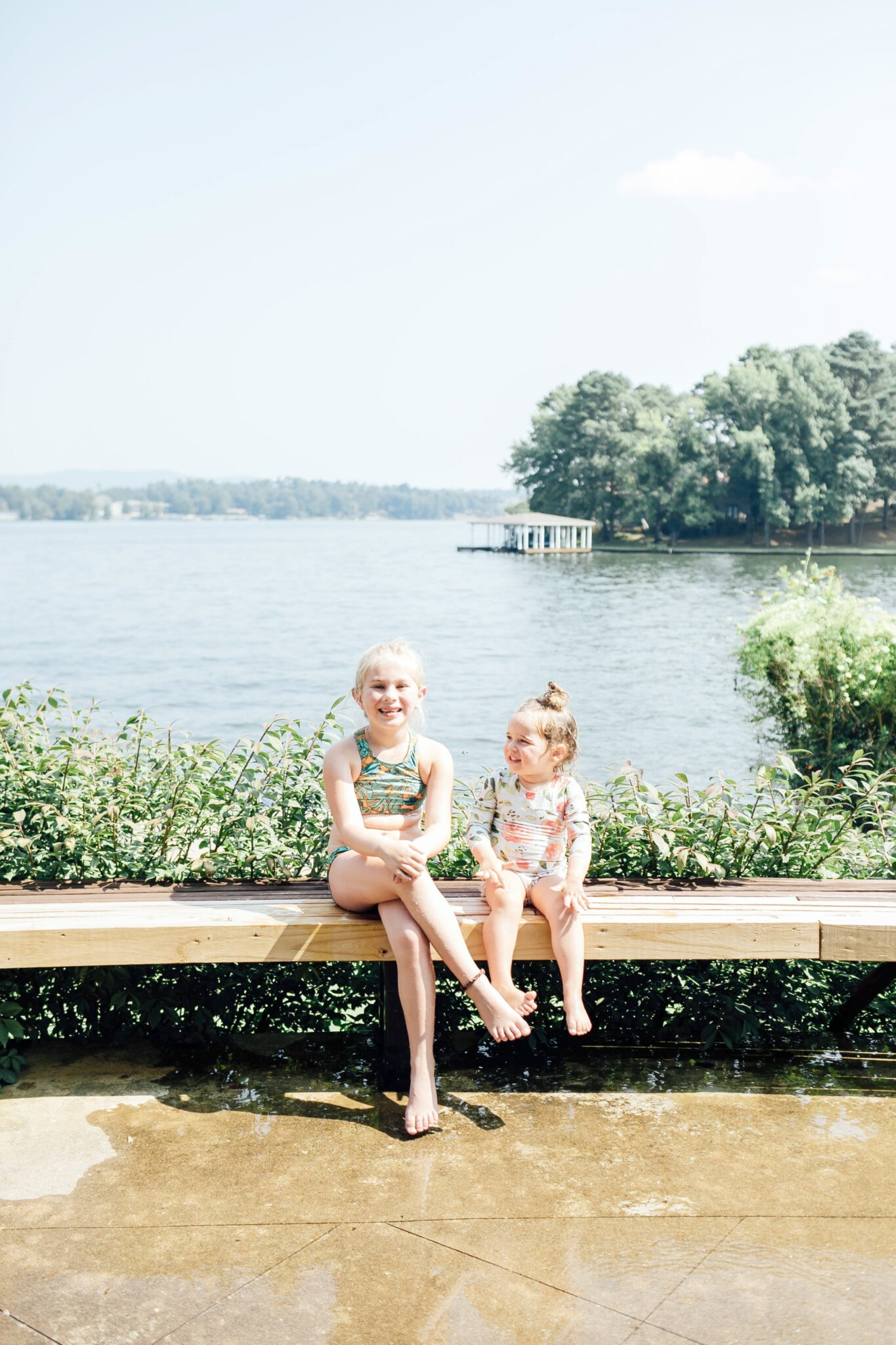 Top 5 Things to Do at the Lake with Kids featured by top US mommy blogger, Walking in Memphis in High Heels.