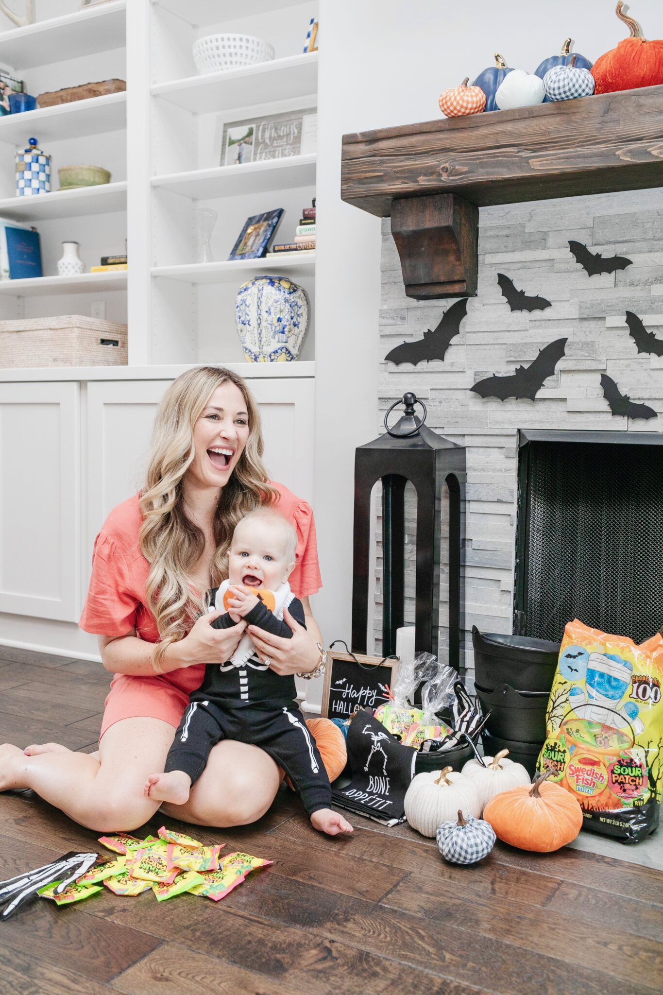 15 Modern Farmhouse Halloween Decorations  featured by top US lifestyle blogger, Walking in Memphis in High Heels.