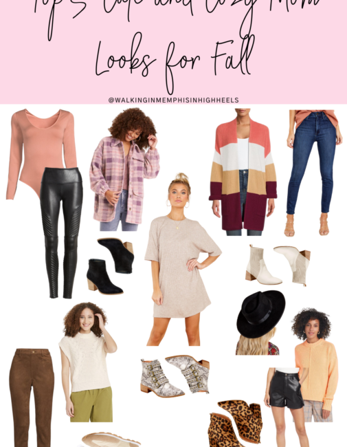 Cozy Mom Looks for Fall featured by top US mom fashion blogger, Walking in Memphis in High Heels.